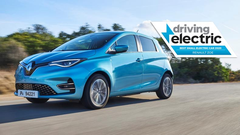 Renault ZOE - Driving Electric Awards