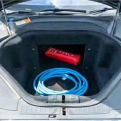 Tesla Model S 85 frunk